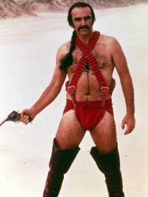 "Sean Connery in ""Zardoz"" (1974)"