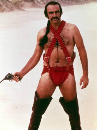 "Sean Connery in ""Zardoz"" (1974)"