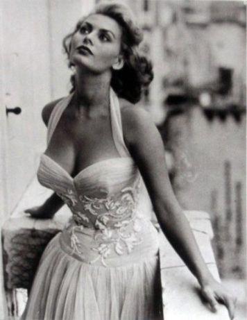Sophia Loren. 1950