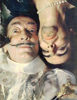 Alice Cooper e Salvador Dalí, 1973