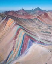 Rainbow Mountain, Peru. Fotografia di Ashwin Atre