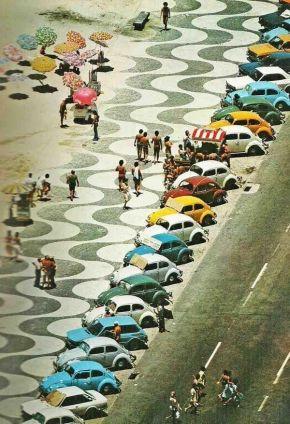 Copacabana Beach, Rio de Janeiro, anni 70