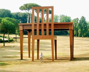 """""""The Writer"""" by Giancarlo Neri, 2005"""