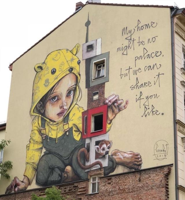 Herakut @Berlin, Germany