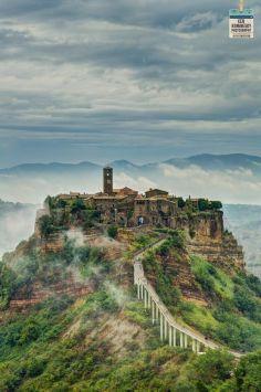 Il paese abbandonato di Civita di Bagnoregio, Basilicata