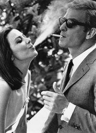 Michael Caine e Natalie Wood, 1966