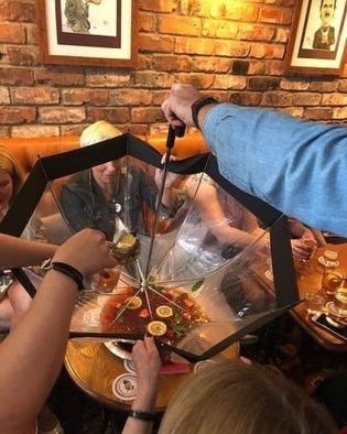 Ombrello porta cocktail