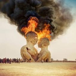 Pier Group al Burning Man 2014. Fotografia di Trey Ratcliff