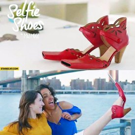 Scarpa selfie
