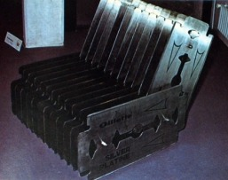The gilette chair by Luc Dailledouze