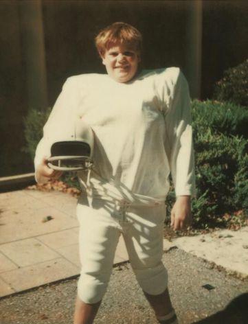 Un sedicenne Chris Farley, 1980