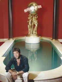 Al Pacino sul set di Scarface, 1983