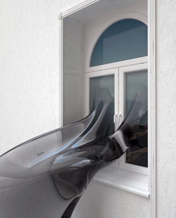 Melted Window 01 by Anders Brasch-Willumsen