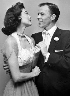 Ava Gardner e Frank Sinatra nel giorno del loro matrimonio, 1951
