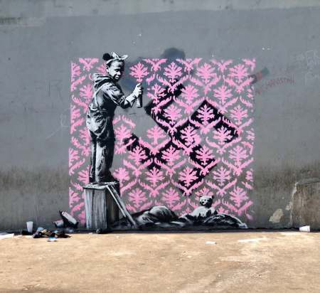 Banksy @Paris, France