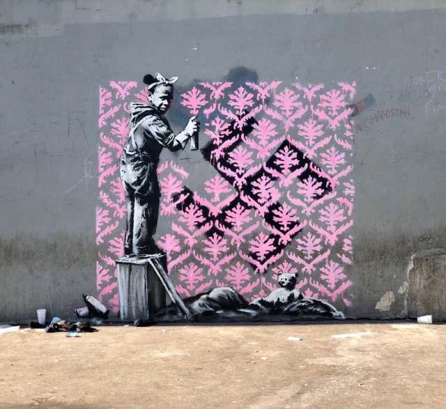 Banksy @Paris, France