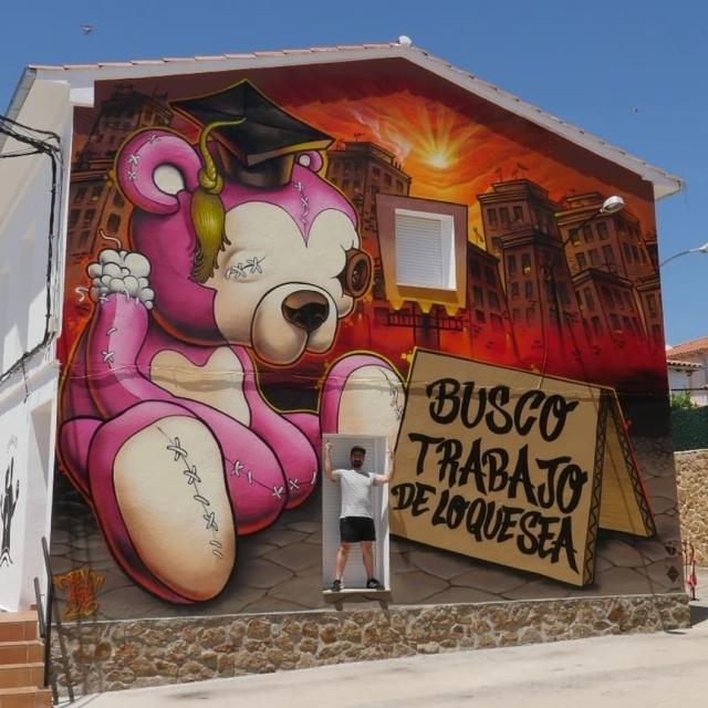 Ben Tocha @Tejeda de Tietar, Spain