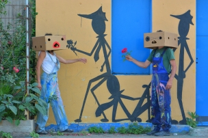 L'insolito mondo di Mr M & Mrs B - La street art di Fema