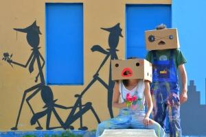 L'insolito mondo di Mr M & Mrs B - La street art di Fema