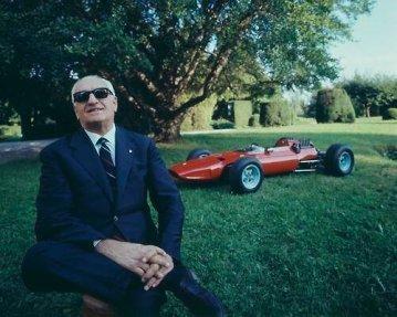 Enzo Ferrari, fondatore della Ferrari Co