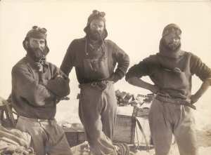Foto degli esploratori. Fotografia di Frank Hurley