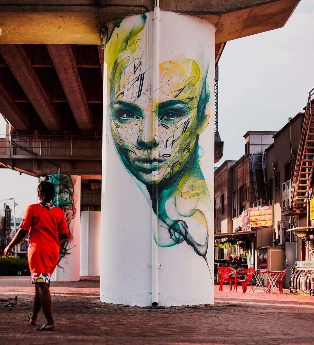Streetart Flash – Hopare @ Dongducheon, South Korea