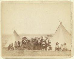 Indiani Miniconjou, South Dakota, 1890