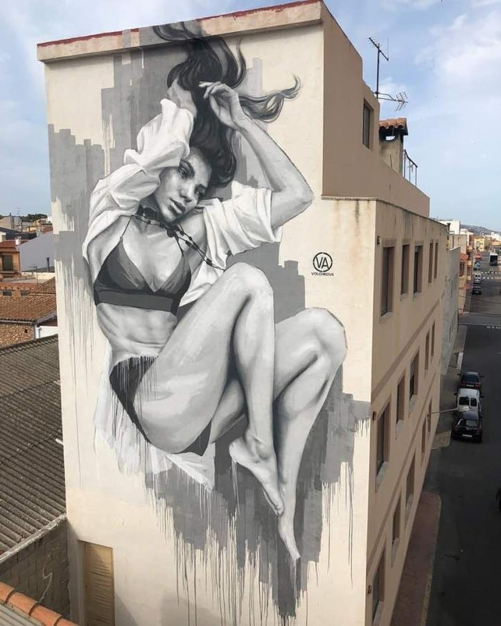 Julia Volchkova @Torreblanca, Spain