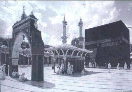 Kaaba, Makkah Al-Mukarramah, del 1800