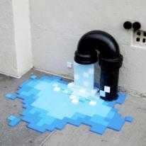 """Pixel Pour"" by Kelli Goeller"