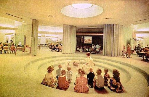 L'aula moderna, anni '60