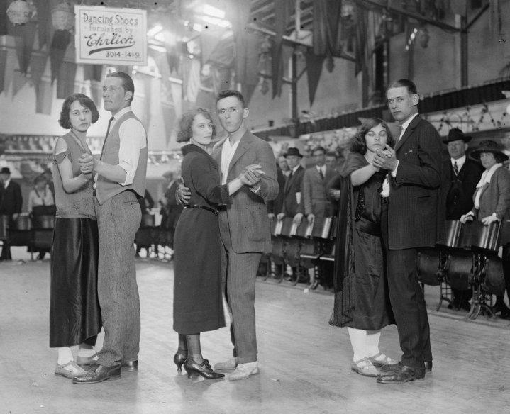 Maratona di ballo, 1923