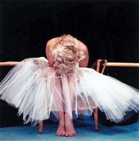 Marilyn Monroe fotografata da Milton Greene, 1954