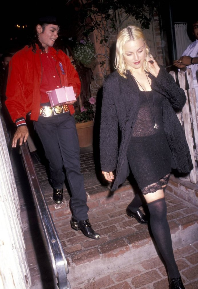 Michael Jackson e Madonna, 1991