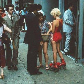 Midtown Manhattan, 1979. Fotografia di Frank Florianz