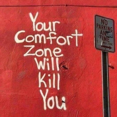 Your Comfort Zone Will Kill You By Renda Writer