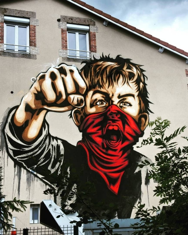 Rnst @Roche-La-Molière, Rhone-Alpes, France