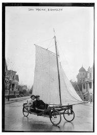 Sail Wagon. Brooklyn, 1910
