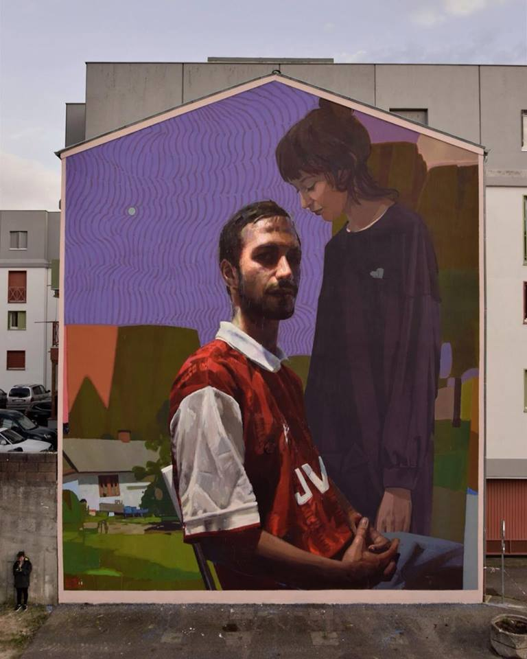Sebas Velasco & Sainer Etam @Fontaine, France