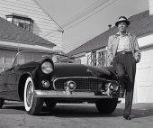 Sinatra e il suo Thunderbird, 1955