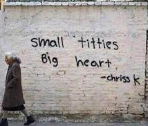 Small titties, big heart by Chriss K