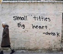 Small titties, big heart by Chriss K