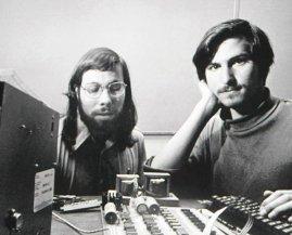 Steve Wozniak e Steve Jobs, 1976