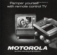 Telecomando Motorola TV, 1962