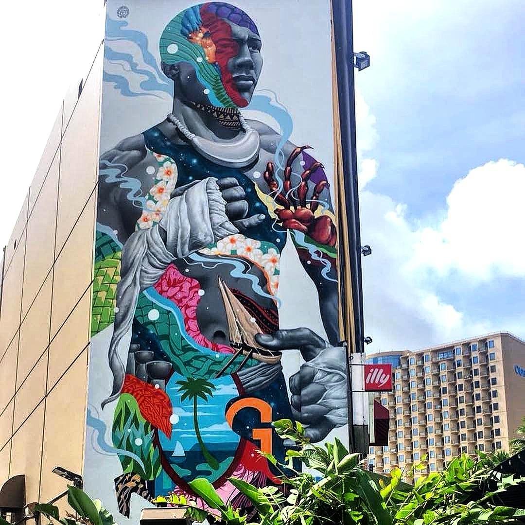 Tristan Eaton @Tamuning, Guam