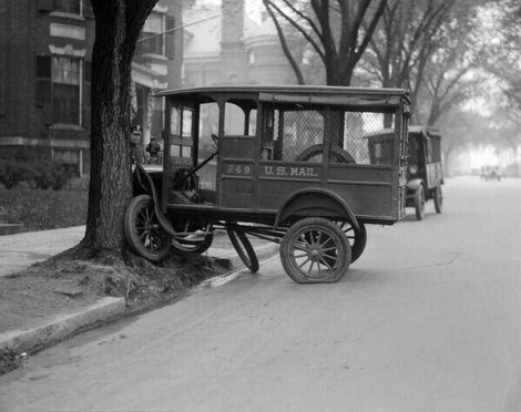 Un incidente d'auto a Boston, nel 1927
