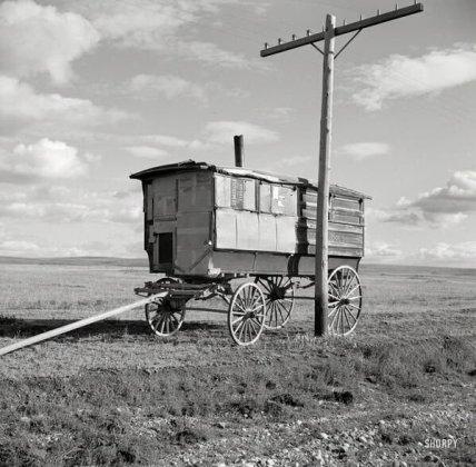 Un vecchio autobus scolastico, 1937