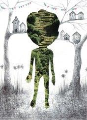 16- Io sono il bosco- Laura Saddi, Disegna per un disegno, Sant'Arte 2018