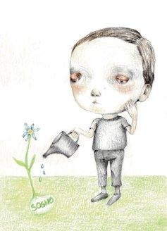 21- Innaffiare il sogno- Laura Saddi, Disegna per un disegno, Sant'Arte 2018