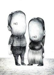 29- No. No.- Laura Saddi, Disegna per un disegno, Sant'Arte 2018